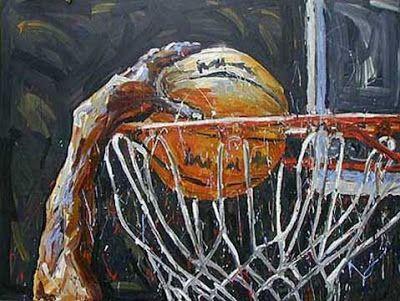 Cool Basketball   Sports Basketball Painting   Basketball ...