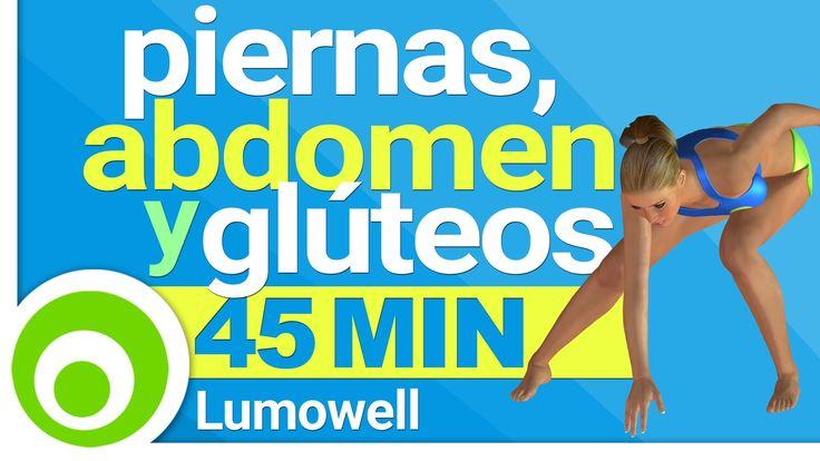 Ejercicios GAP, 45 Minutos - Rutina de Fitness per Piernas, Abdomen y ...