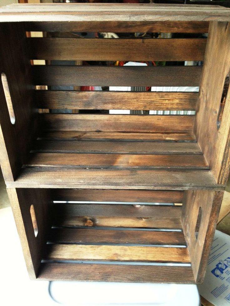How to Make a Crate Bookshelf at PlumberSurplus.com