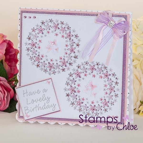 Stamps By Chloe - Flower Circle - CraftStash