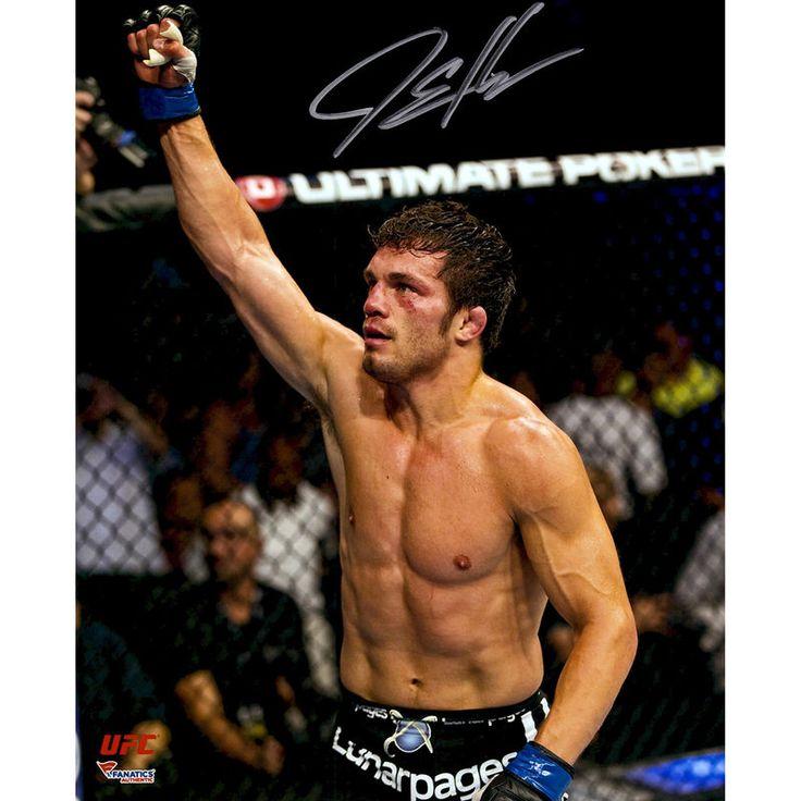 "Jake Ellenberger Ultimate Fighting Championship Fanatics Authentic Autographed 8"" x 10"" Raising Arm Photograph"