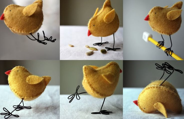 Make these chicks with Free PDF and 45 BEST Spring Party & Decor Tutorials EVER with their LINKS!!!  GIFT, PARTY, EVENT, SPRING, WEDDING DECOR.  Blog & Photos from MrsPollyRogers.com