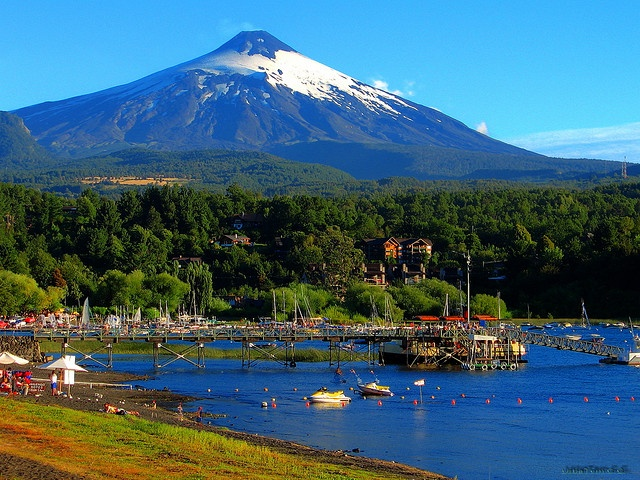 Pucon  Many memorable family vacations.
