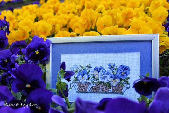 Image Pansies flowers