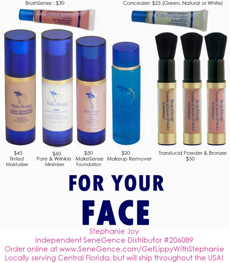 SeneGence is more than just LipSense! They make some of the most amazing products for your face!!! Order online or join my team today at www.SeneGence.com/getlippywithStephanie Get 20 to 50% off your orders when you become a distributor!!