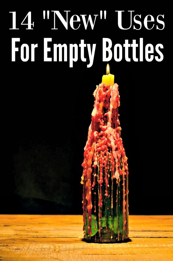 17 best images about living green every day on pinterest for Uses for old glass bottles