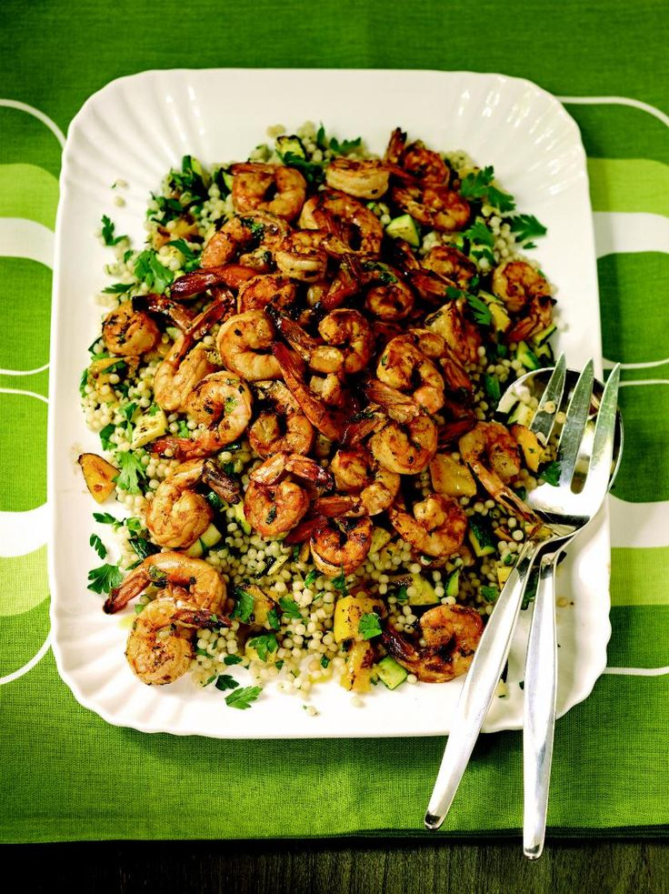 23 best ted allen images on pinterest ted clean eating foods and grilled chile lime shrimp with israeli couscous mango and zucchini forumfinder Image collections