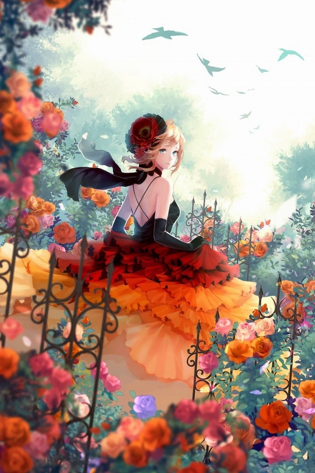 Rose Garden Anime: 25+ Best Ideas About Anime Art Girl On Pinterest