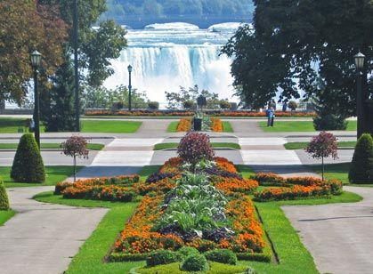 Q - Queen Victoria Park. Visit this stunning park, located right in front of Niagara Falls