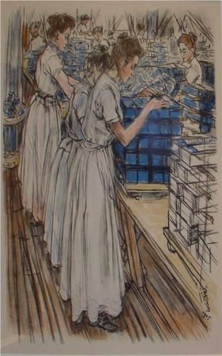 Candle factory  - Jan Toorop