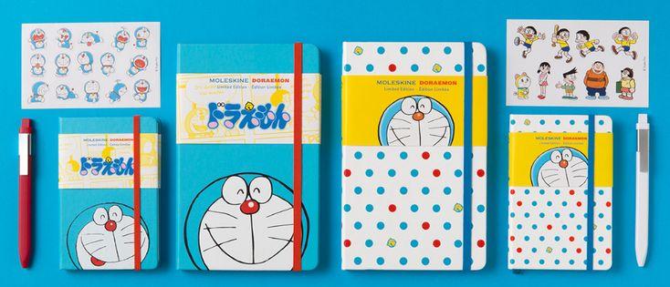 Doraemon x Moleskine. Go on an adventure with your old friend again!