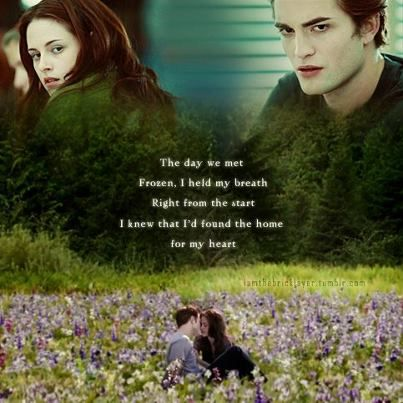 Breaking Dawn Part 2, a Thousand Years Part 2~ Christina Perri makes me cry!! :'''''''''( the day we met frozen i held my breath, right from the start i knew that i found a home for my heart, beats fast colors and promises how to be brave.....:''''''(