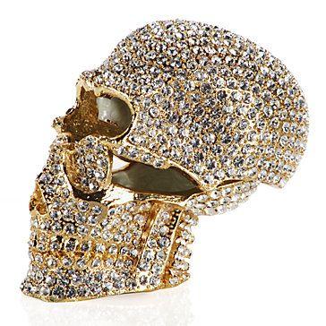 Crystal Skull Trinket Box | Jewelry-boxes | Accessories | Decor | Z Gallerie   #Eeeee