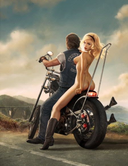 Biker Chick Pictures - Pictures of Naked Biker Chicks