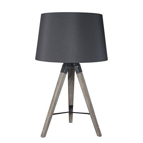 Robust Tripod Table Lamp 72cm