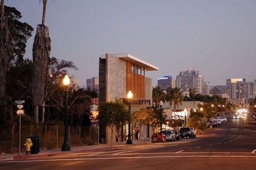 R3 Triangle Building in California by Lloyd Russell Photo