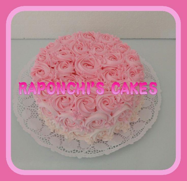 #rosas #torta #raponchiscakes