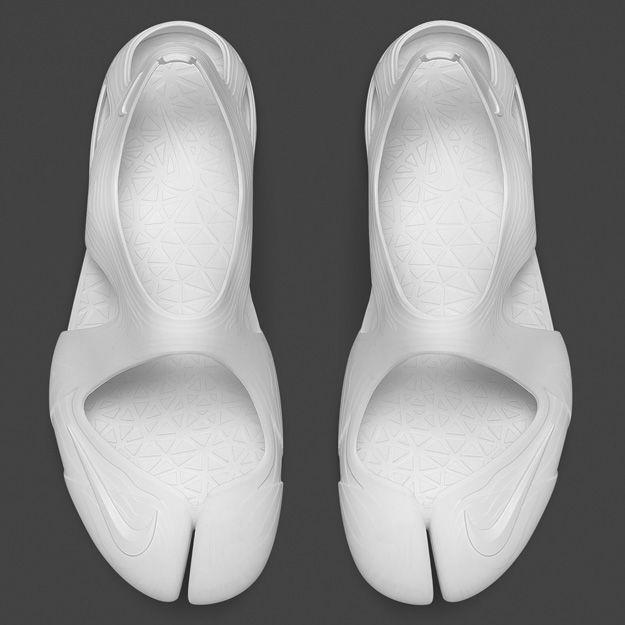 Nike Free Rift Sandal White-White | Air Rift Evolved