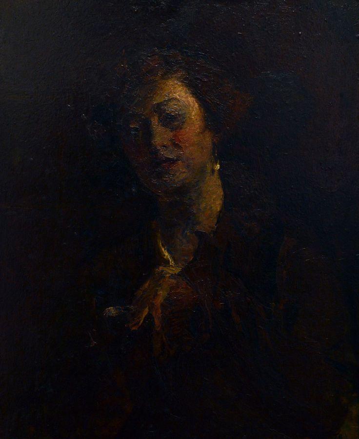 Portrait of woman | Kunffy Lajos | 1903 | Rippl - Rónai Megyei Hatókörű Városi Múzeum - Kaposvár | CC BY