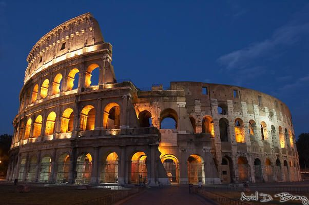 Visit Rome to and see the Colosseum!