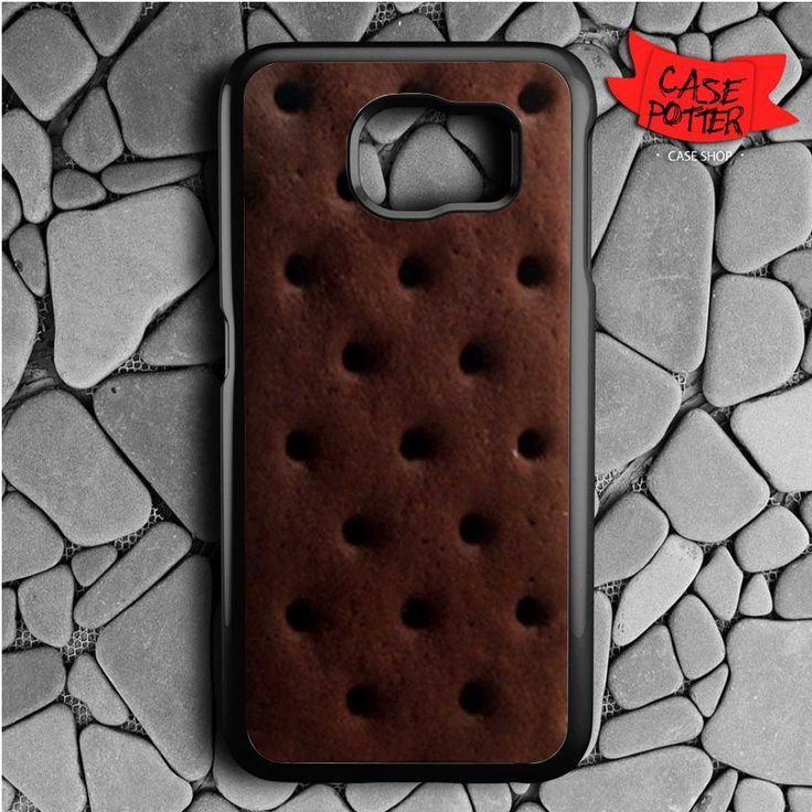 Ice Cream Sandwich Samsung Galaxy S6 Black Case
