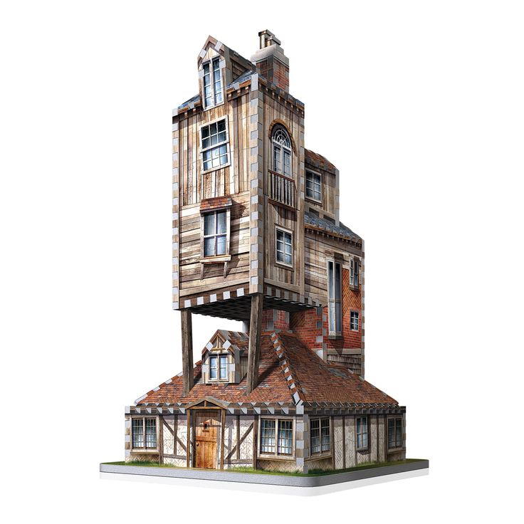 Created with bits and pieces from multiple houses and different materials, the Burrow always seemed to be holding together by pure magical means. Dive right back into the heartwarming memories from Weasley Family Home and test yourself by assembling this intriguing 415-piece 3D puzzle. You'll soon be forging great moments of your own with family and friends.