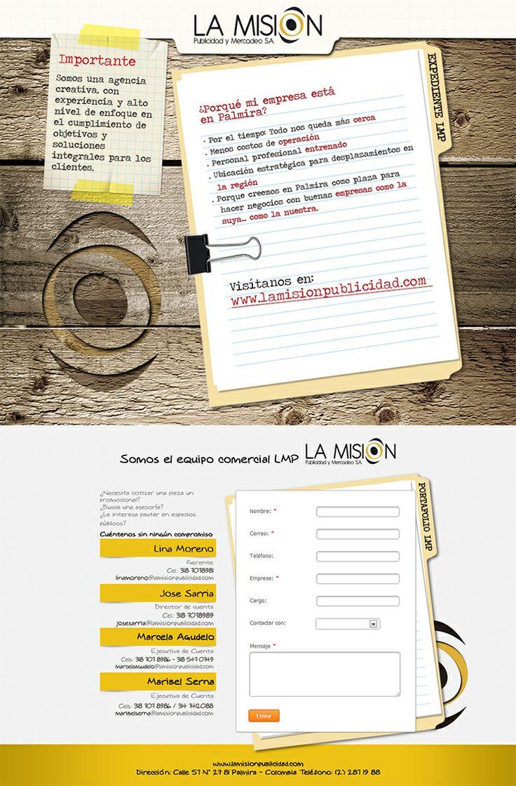 Campaña online La Misión Publicidad