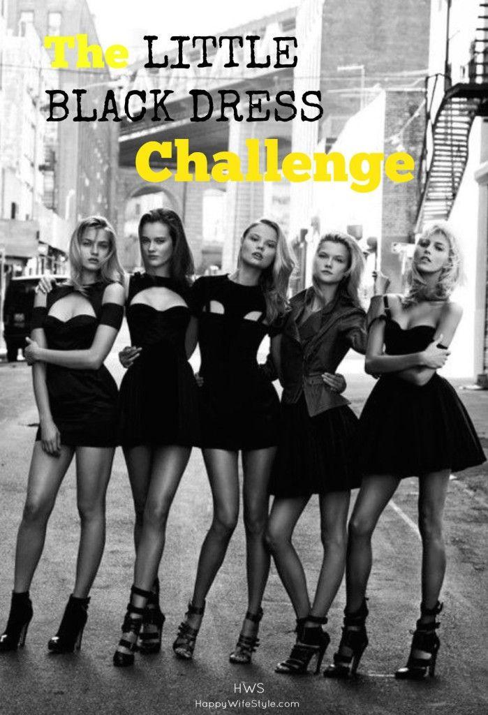 30 Day Little Black Dress Challenge