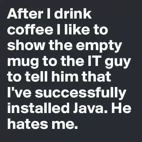 With it, your jokes are HILARIOUS. | 33 Signs That Coffee Owns You