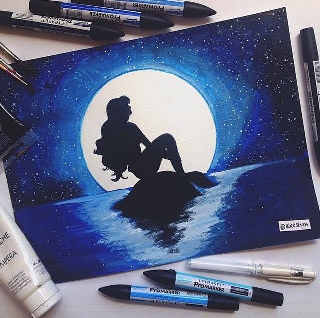 Disney Paint Colors And Ideas: Best 25+ Little Mermaid Drawings Ideas On Pinterest