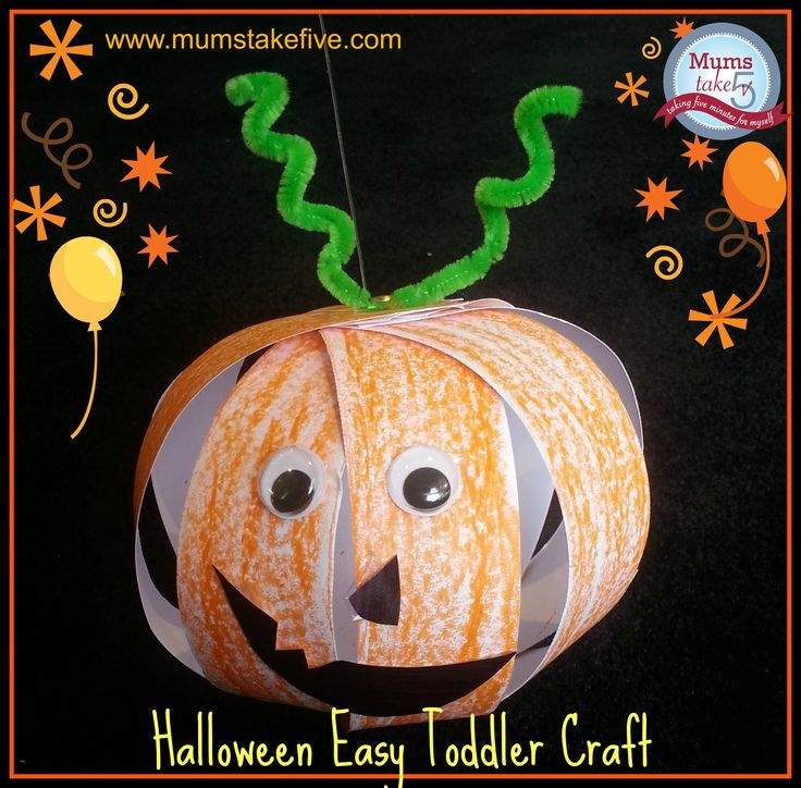 easy and fun preschool halloween craft - Halloween Crafts For Preschoolers Easy