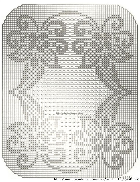 Crochet and arts: Beautiful filet crochet