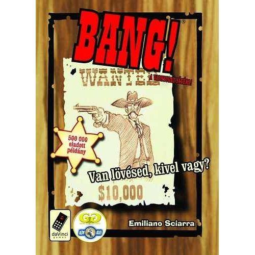 BANG! vadnyugatian vicces kártyajáték 8 éves kortól - Kártya játékok - Akebia Játék-Készségfejlesztő, kreatívjátékok webáruháza