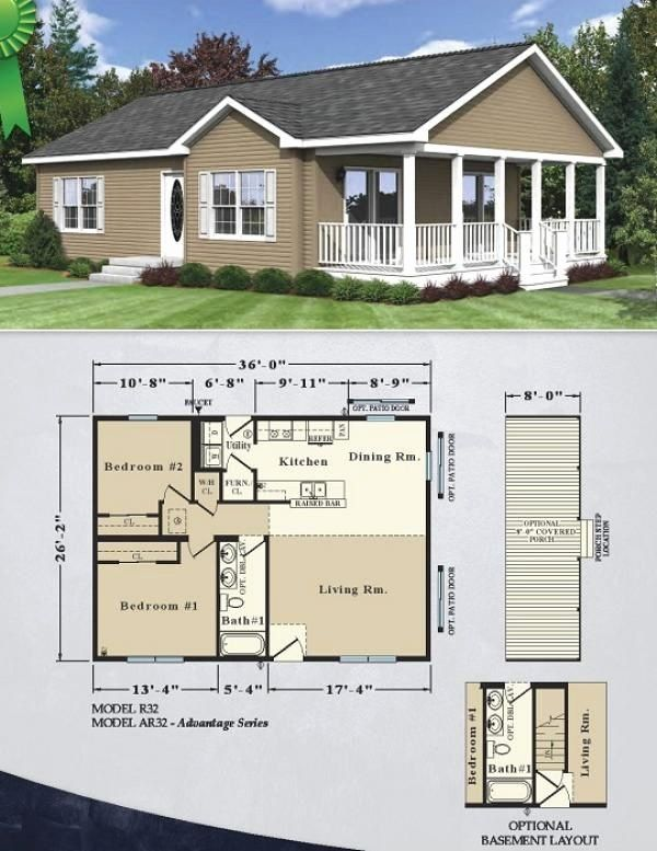 26 X 36 House Plans Awesome 26 2 X 36 1 Sunrise Housing In 2020 Sunrise Home House Plans Bungalow House Plans