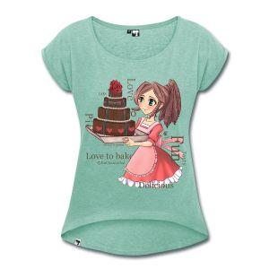 Te koop bij www.enchantalled.nl #shirts #dameskleding #mangashirt #animeshirt #manga #anime #taart