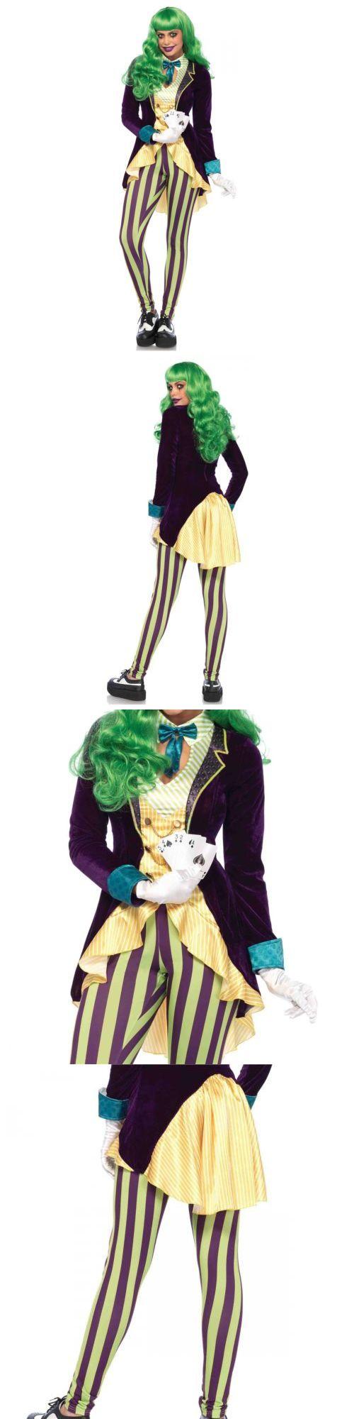 Halloween Costumes Women: Female Joker Costume Adult Super Villain Girl Halloween Fancy Dress -> BUY IT NOW ONLY: $57.95 on eBay!