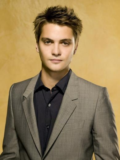 Luke Grimes, cast in True Blood Season 6 as James, a retro blood sucker who is intelligent, spiritual and unusually profound for a member of his species.
