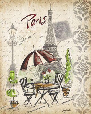 Pariste şu kafede neden oturmayayım.önce ayaklarının üzerinde dur!