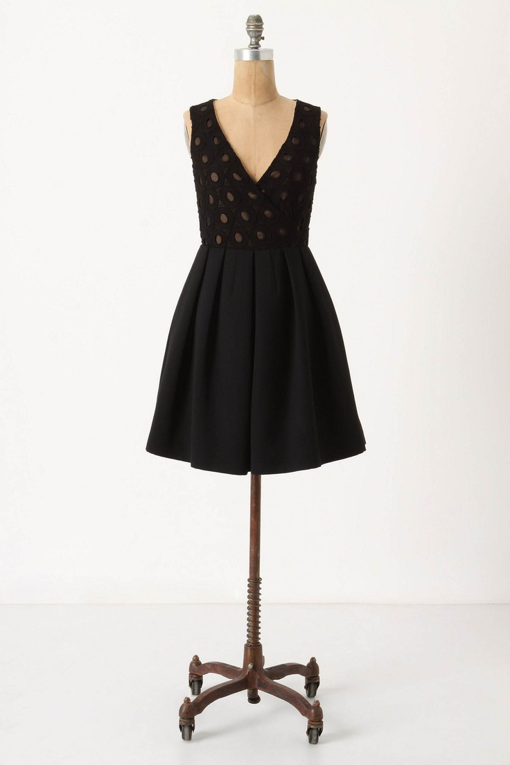 My dress for winter formal, with tights?
