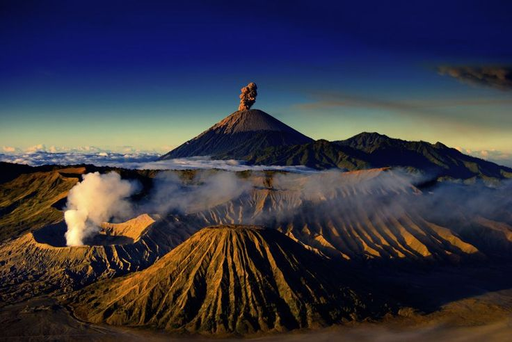 Bromo mountains
