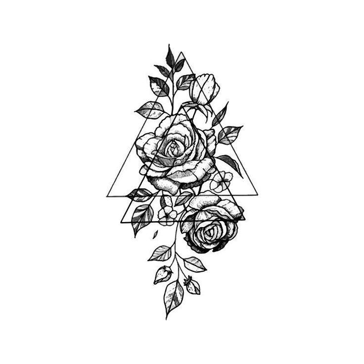 тату картинки распечатать эскизы роза кто завсегдатаев поможет