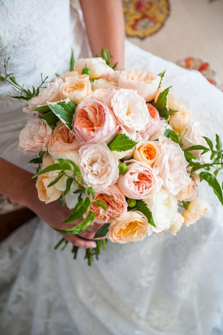 Peach Garden Rose Bouquet 81 best bouquetsblush floral design images on pinterest