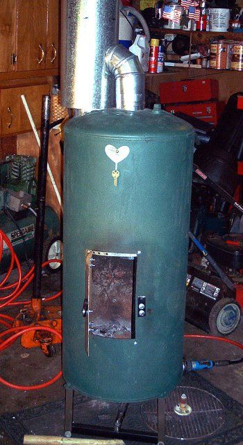 91 best waste motor oil drip heater Bertha made from an