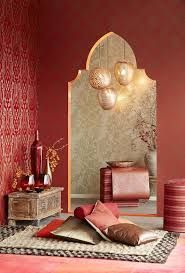 Add this red interior design selection to your own inspirations for your next interior design project! More red interior design ideas at http://essentialhome.eu/