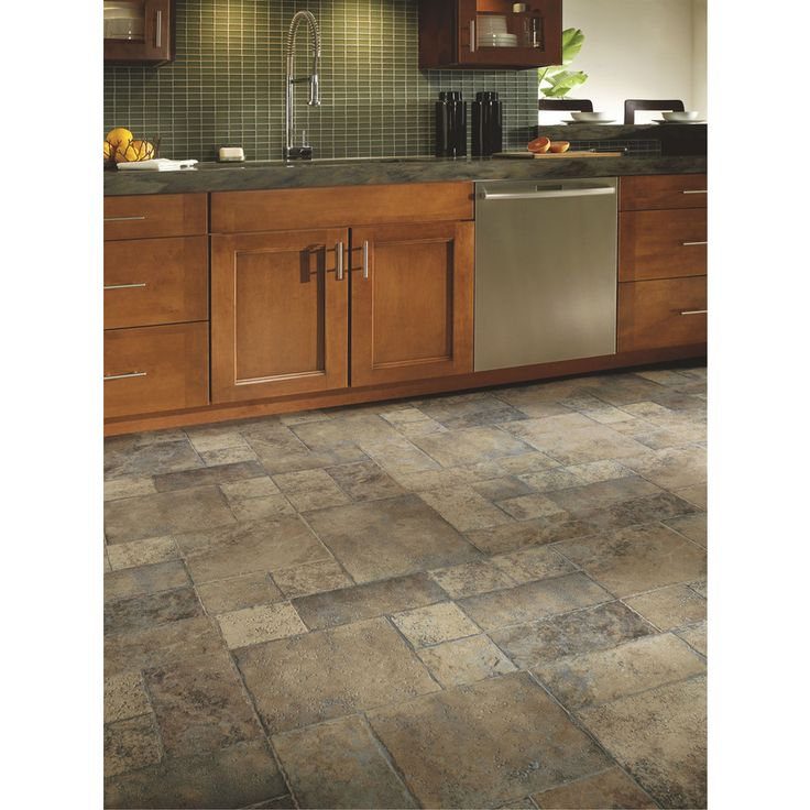Slate Look Kitchen Flooring