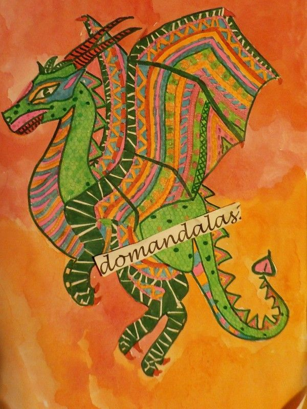 Creation by domandalas3, coloring page from the gallery Zentangle