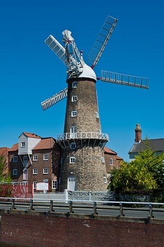Maud Foster Windmill, Boston, Lincolnshire.
