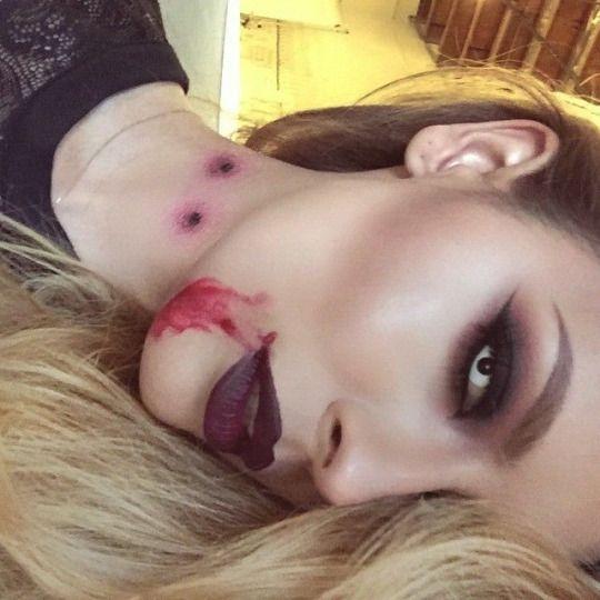 vampire makeup                                                                                                                                                                                 More