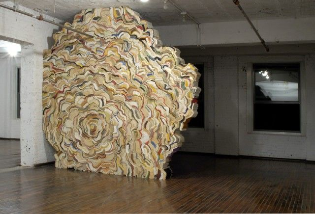 Stacked Book Sculptures by Jonathan Callan