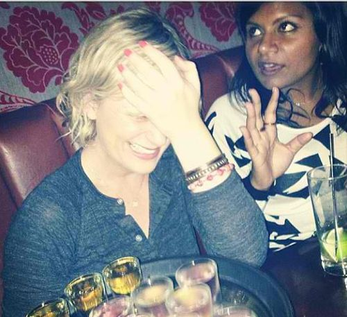Because she knows how to have a good time, especially with celebrity friends | 23 Reasons Why Amy Poehler Is Perfect